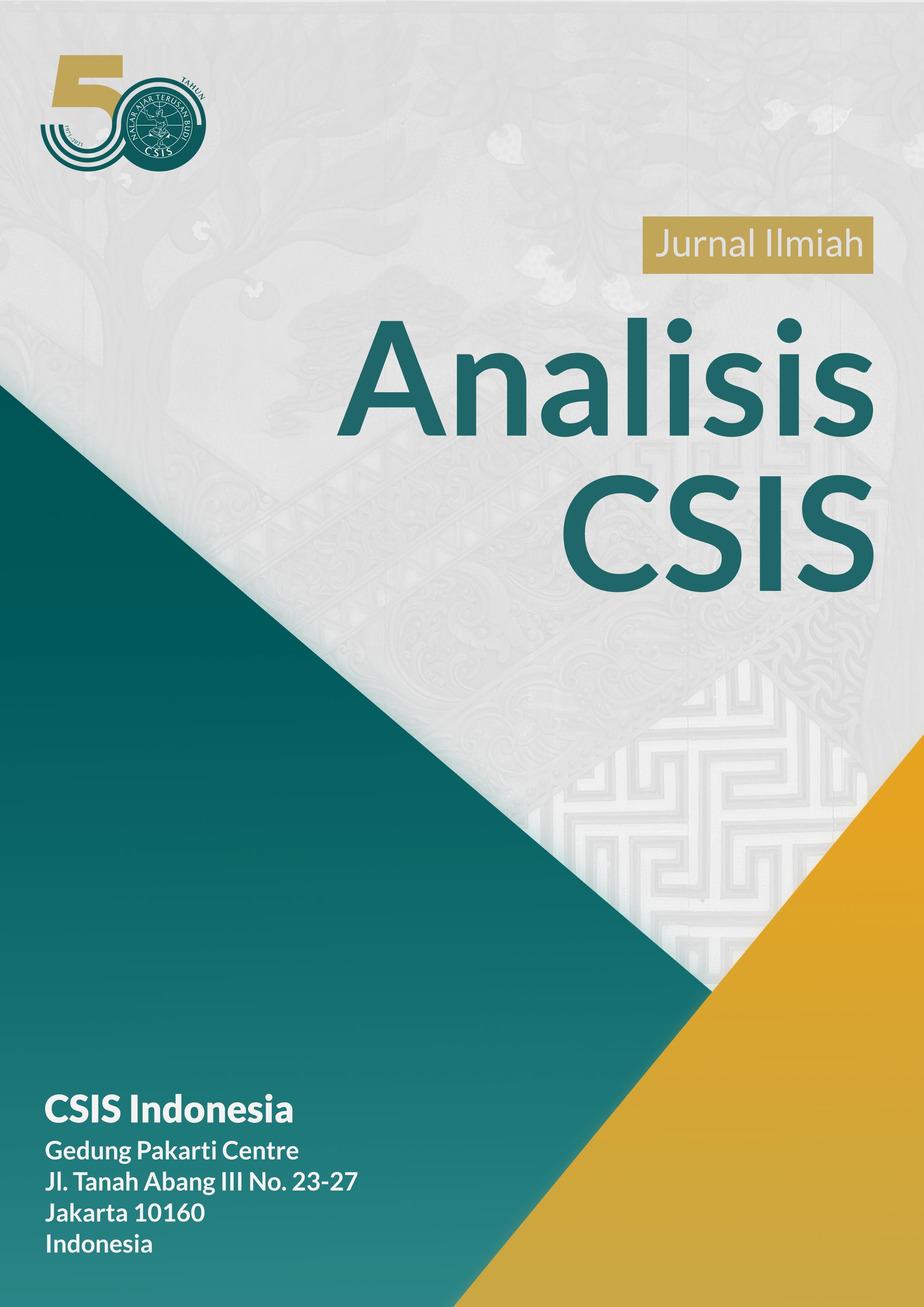 Jurnal Analisis CSIS